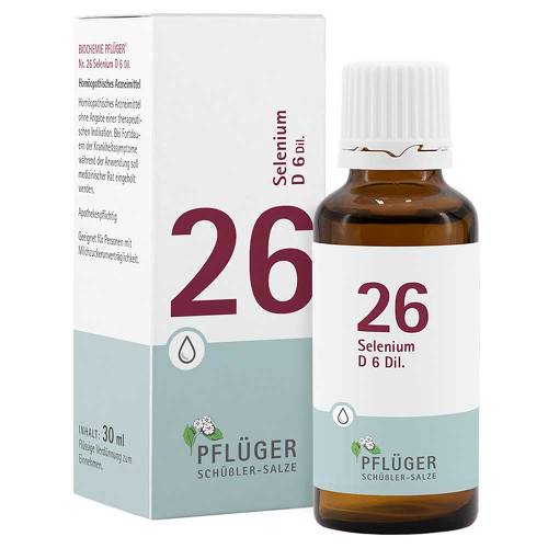 Biochemie Pflüger 26 Selenium D 6 Tropfen - 1