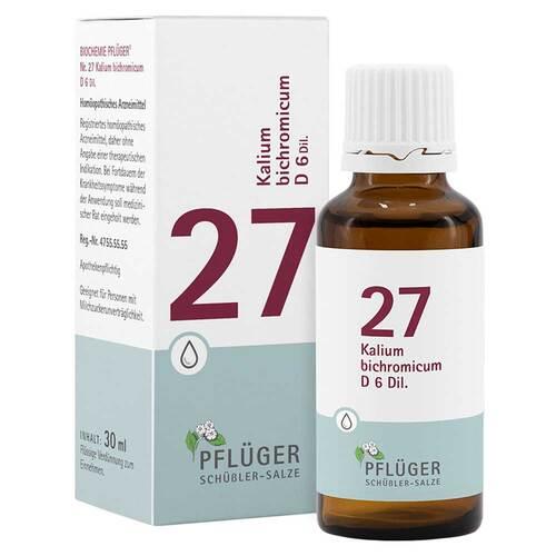 Biochemie Pflüger 27 Kalium bichromicum D 6 Tropfen - 1