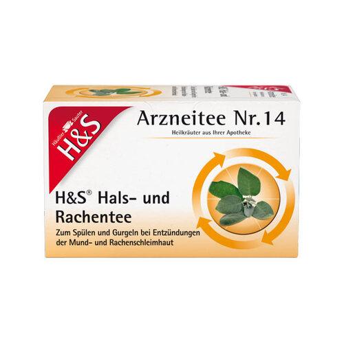 H&S Hals- und Rachentee Filterbeutel - 1