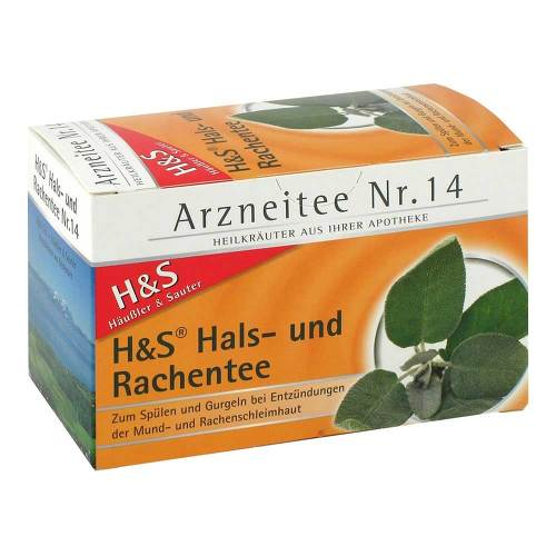 H&S Hals- und Rachentee Filterbeutel - 2