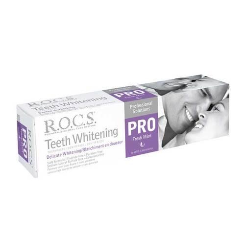 Rocs Pro Sanfte Aufhellung Fresh Mint Zahncreme - 1