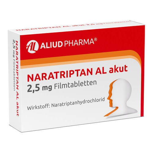 Naratriptan AL akut 2,5 mg Filmtabletten - 1
