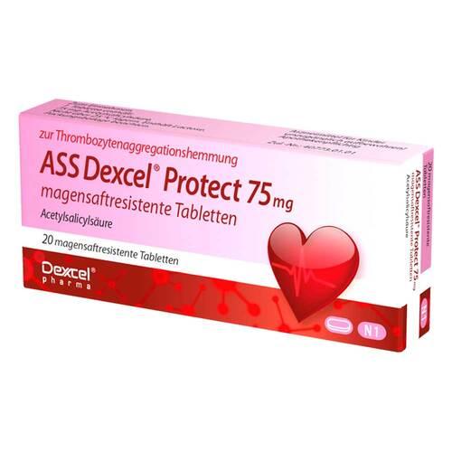 ASS Dexcel Protect 75 mg magensaftresistent Tabletten - 1