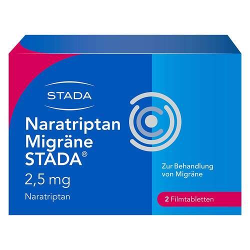 Naratriptan Migräne STADA 2,5 mg Filmtabletten - 1