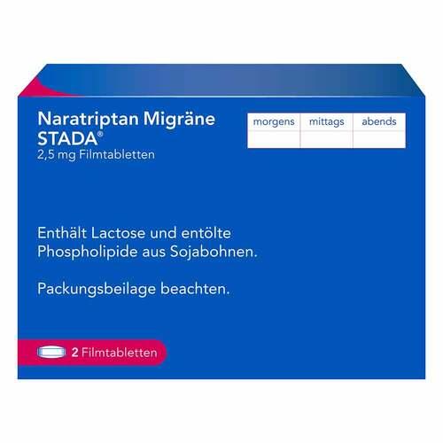 Naratriptan Migräne STADA 2,5 mg Filmtabletten - 2