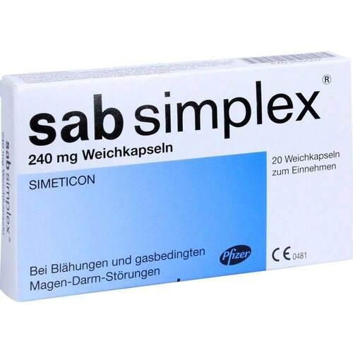 Sab simplex 240 mg Weichkapseln - 1