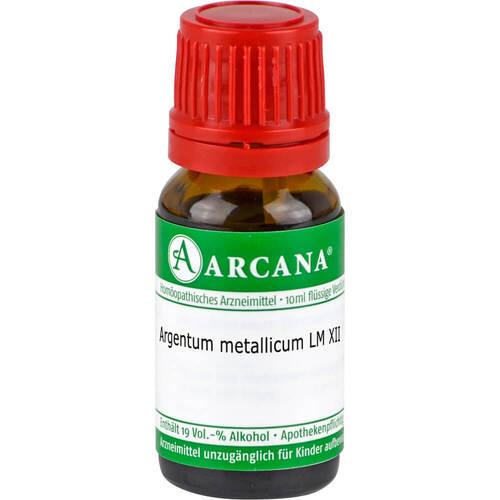 Argentum metallicum LM 12 Dilution - 1