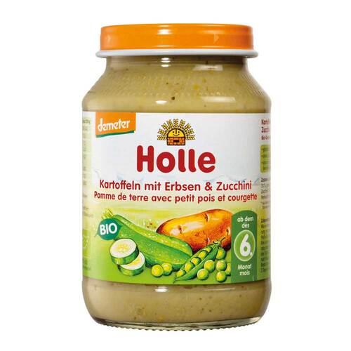 Holle Kartoffeln mit Erbsen und Zucchini - 1