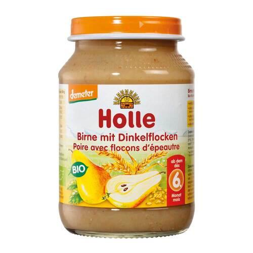 Holle Birne mit Dinkelflocken - 1