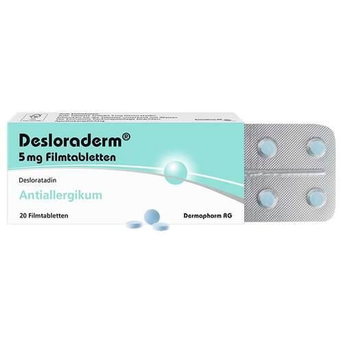 Desloraderm 5 mg Filmtabletten - 1