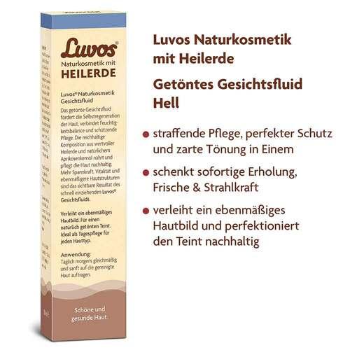 Luvos Naturkosmetik getöntes Gesichtsfluid hell - 3