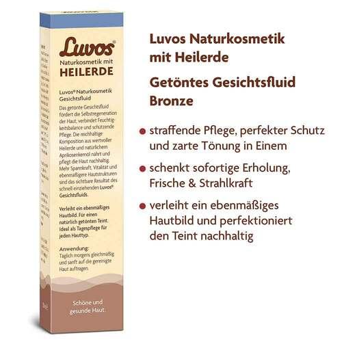 Luvos Naturkosmetik getöntes Gesichtsfluid bronze - 2