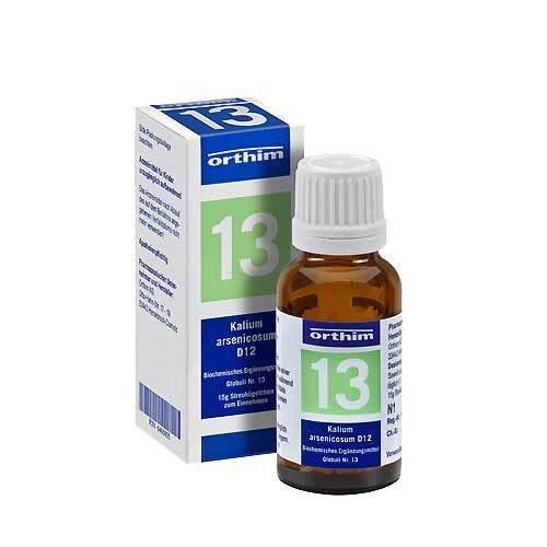 Biochemie Globuli 13 Kalium arsenicosum D 12 - 1