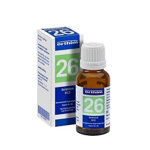 Biochemie Globuli 26 Selenium D 12 - 1