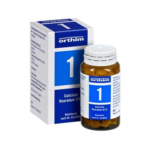 Biochemie Orthim 1 Calcium fluoratum D 12 Tabletten - 1