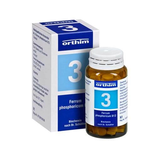 Biochemie Orthim 3 Ferrum phosphoricum D 12 Tabletten - 1