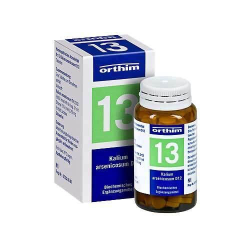 Biochemie Orthim 13 Kalium arsenicosum D 12 Tabletten - 1