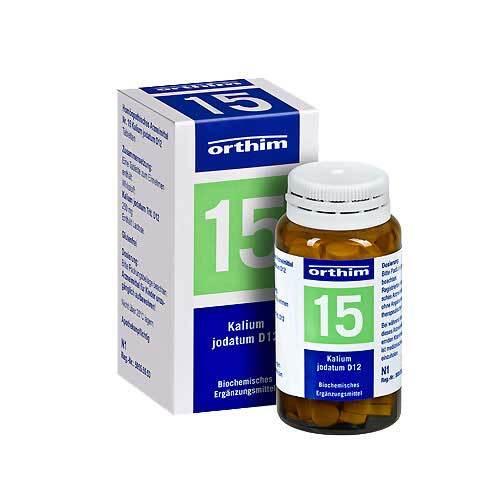 Biochemie Orthim 15 Kalium jodatum D 12 Tabletten - 1