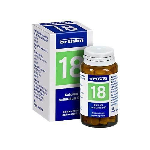 Biochemie Orthim 18 Calcium sulfuratum D 12 Tabletten - 1