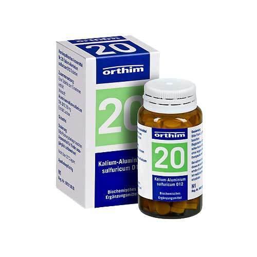 Biochemie Orthim 20 Kalium-Alumin. sulfuricum D 12 Tabletten - 1