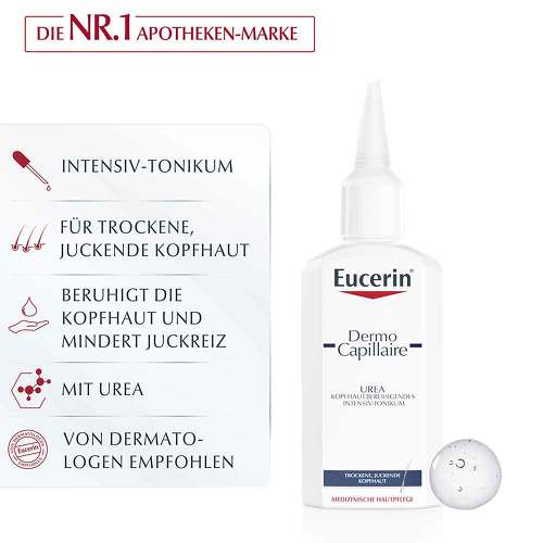Eucerin DermoCapillaire kopfhautberuhigendes Urea Intensiv-Tonikum - 3