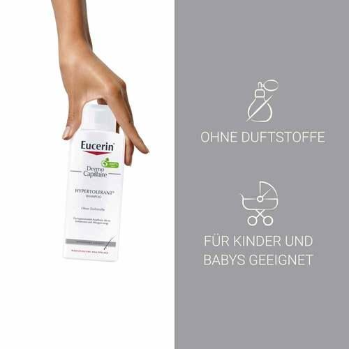 Eucerin DermoCapillaire Hypertolerant Shampoo - 3