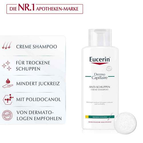 Eucerin DermoCapillaire Anti-Schuppen Creme Shampoo - 3