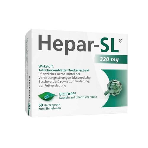 Hepar SL 320 mg Hartkapseln - 1