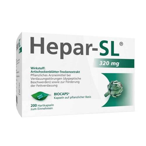 MCM KLOSTERFRAU Vertr. GmbH Hepar SL 320 mg Hartkapseln