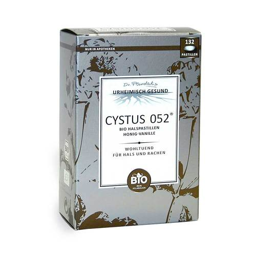 Cystus 052 Bio Halspastillen Honig Vanille - 1
