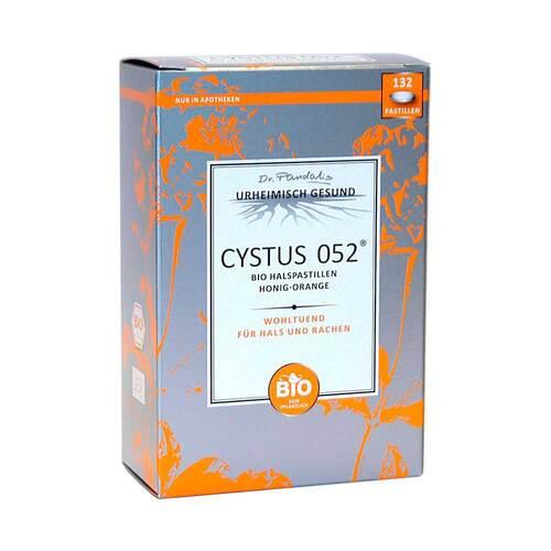 Cystus 052 Bio Halspastillen Honig Orange - 1