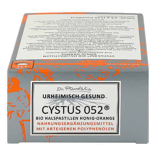 Cystus 052 Bio Halspastillen Honig Orange - 4