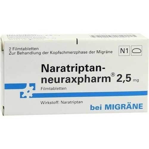 Naratriptan neuraxpharm 2,5 mg Filmtabletten - 1