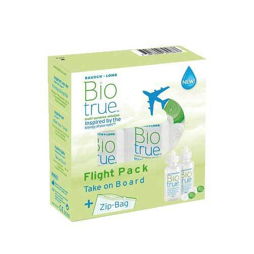 Biotrue All in one Lösung Flight Pack - 1