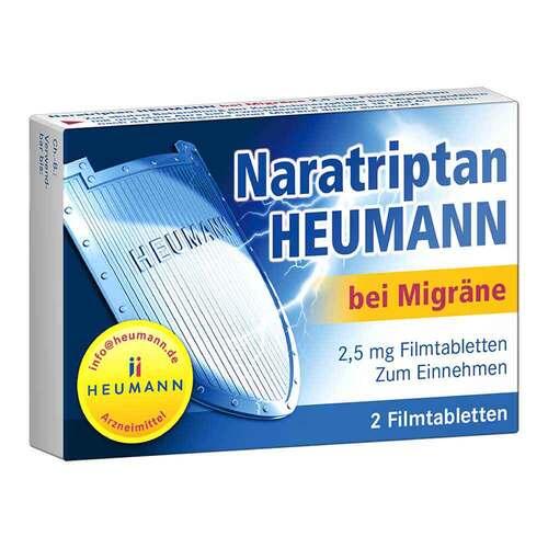 Naratriptan Heumann bei Migräne 2,5 mg Filmtabletten - 1