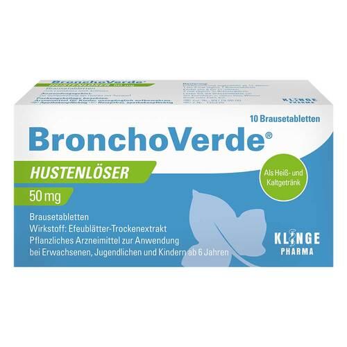Bronchoverde Hustenlöser 50 mg Brausetabletten - 1