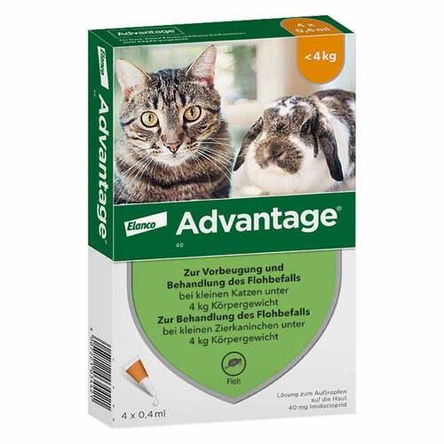 Advantage Katzen und Zierkaninchen - 1