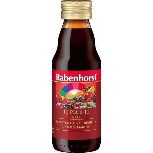 Rabenhorst 11 Plus 11 Multivitaminmehrfrei Saft rot - 1