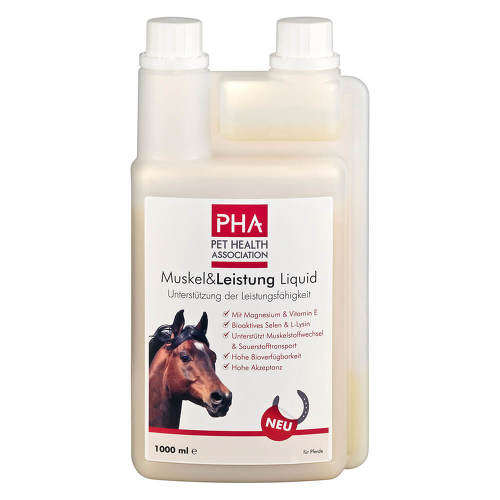 PHA Muskel & Leistung für Pferde Pulver - 1