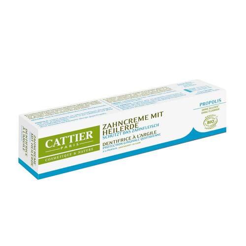 Cattier Zahncreme mit Heilerde und Propolis - 1