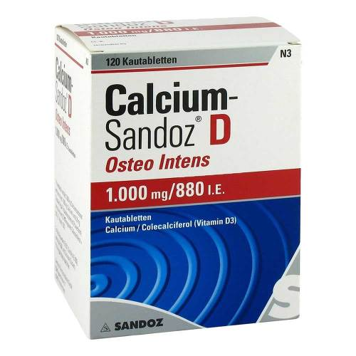 Calcium Sandoz D Osteo intens Kautabletten - 1