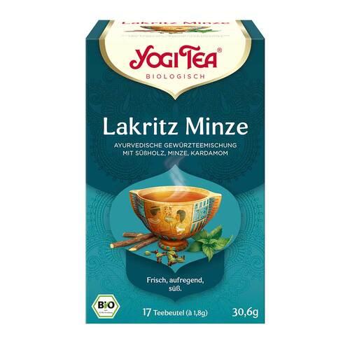 Yogi Tea Lakritz Minze Bio - 1