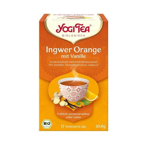 Yogi Tea Ingwer Orange + Vanille Bio - 1