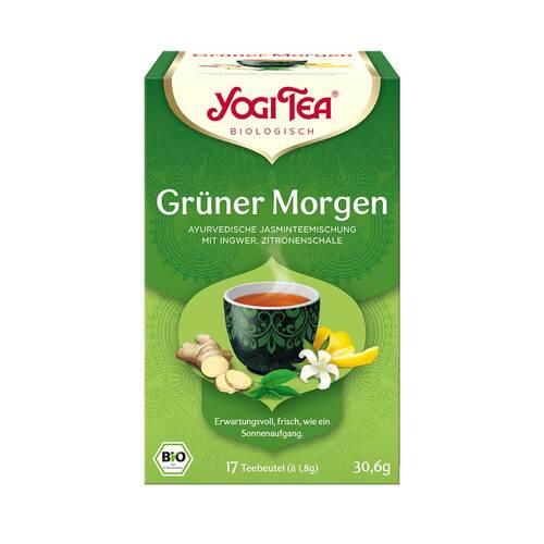 Yogi Tea Grüner Morgen Bio - 1