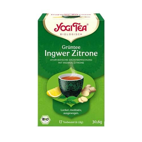 Yogi Tea Grüntee Ingwer Zitrone Bio - 1