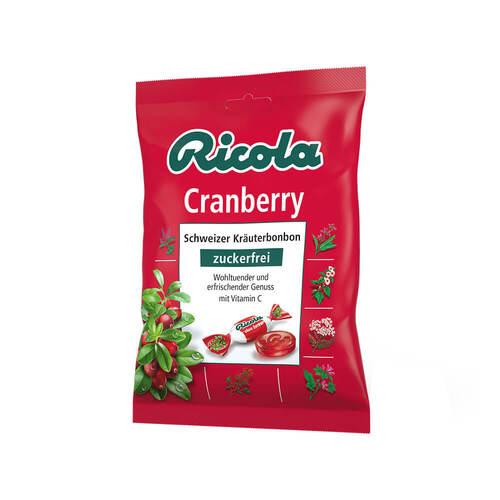 Ricola ohne Zucker Cranberry Bonbons - 1