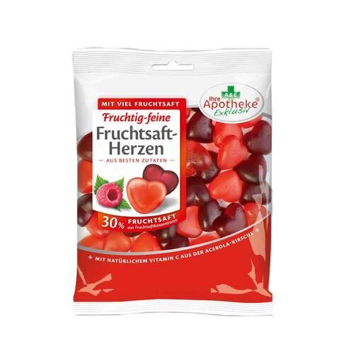 Fruchtsaft-Herzen 30% Fruchtsaft apothekenexklusiv - 1