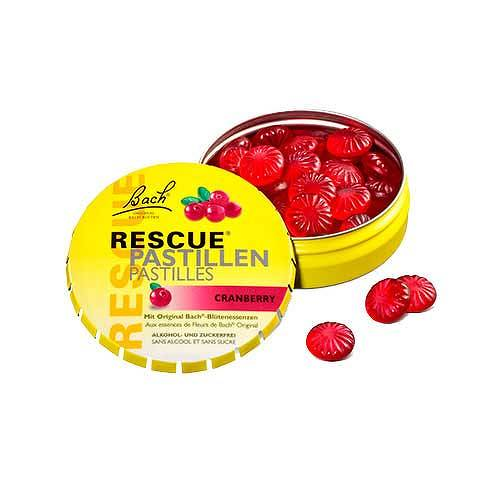 Bach Original Rescue Pastillen Cranberry - 1