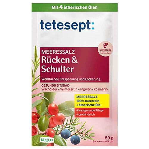 Tetesept Meeressalz Rücken & Schulter - 1