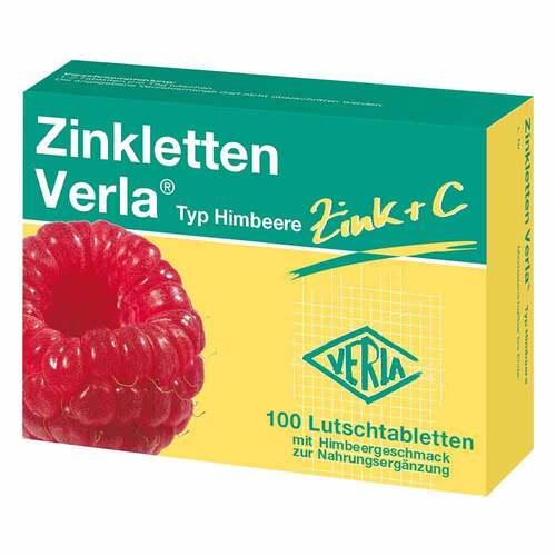 Zinkletten Verla Himbeere Lutschtabletten - 1
